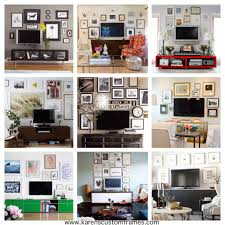 Framing A Tv 5 Tips For Decorating Around A Television Televisions Initials