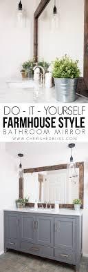 Best  Frame Bathroom Mirrors Ideas On Pinterest Framed - Trim around bathroom mirror