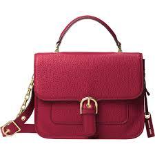 michael kors cooper large school leather satchel