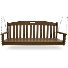 Trex 5 Yacht Club Recycled Plastic Porch Swing Rocking Furniture
