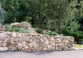 6 dry stacked long island retaining wall fieldstone sandstone blocks for walls