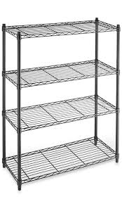 details about commercial grade 4 tier shelving unit steel shelves modern storage organizer