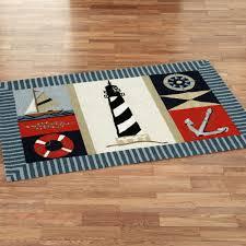 coastal kitchen rugs with wooden flooring