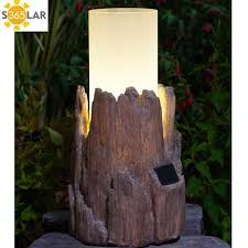 Rustic Tulip Lantern  Solar U0026 Garden Lighting  NOMA Garden Art Noma Solar Lights