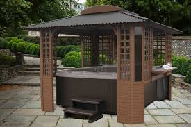 Freestanding Tubtop - Spa Gazebos and Hot Tub Enclosures by .