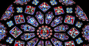 the stained glass windows of chartres