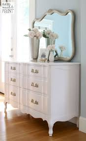 Silky Smooth French Provincial Dresser with mirror 2