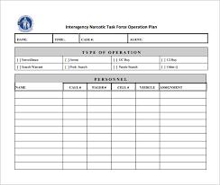 Operation Plan Outline 17 Operational Plan Templates Pdf Doc Free Premium Templates