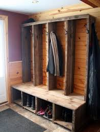 Coat Rack Idea Bench Bench Diy Entryway With Shoe Storage Plans And Coat Rack 58