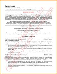 Canadian Resume Format English Teacher Resume Sample Png Saint Connect