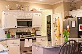 Elegant Kitchen Cabinets Decorating. Simple Decorating Ideas For Above ... Good Looking