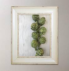 gifts for cooks gifts for gardeners homegrown organic artichokes art print the harvest