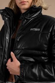 i am gia i am gia hersilla black puffy jacket