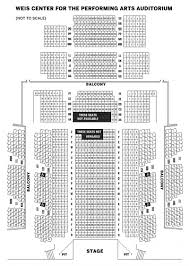 Casey Plaza Seating Chart Weis Center Seating Chart