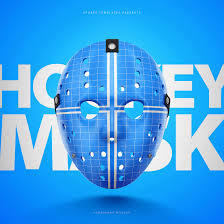 Free Hockey Face Mask Psd Template Sports Templates