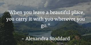 Quotes About Beautiful Places