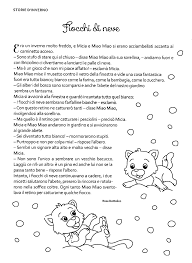La maestra Linda: Racconti d'Inverno: Fiocchi di neve ...