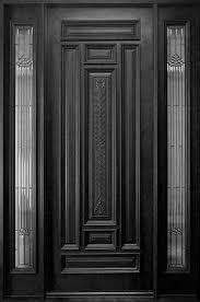 Entrance Door Frame Design Glass Panels In Door Frame Wood Exterior Door Wood Entry