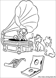 The Aristocats Coloring Pages On