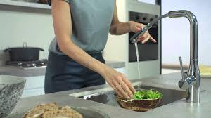 <b>Смесители для кухни GROHE</b> с выдвижной лейкой Pull out spray ...