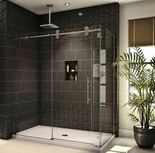 replace glass shower door bathroom the old shower door parts is it difficult glass shower installing