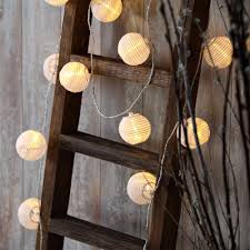 White Indoor Fairy Lights Us 11 98 Set Of 10 White Fabric Paper Lantern Lights Globe String Fairy Lights For Christmas Party Wedding New Year Indoor Decoration In Holiday