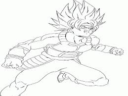 Dragon Ball Z Super Coloring Pages With Dragon Ball Super Coloring