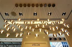 aliexpresscom buy modern contemporary bocci 147 lights 7 heads glass pendant meteor shower rain drop chandelier lighting chrome stainless canopy from bocci lighting