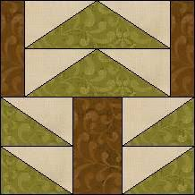 Tall Pine Tree | Free..... Quilt Block Patterns | Pinterest | Pine ... & Quilt-Pro Systems - Quilt-Pro - Block of the Day- Tall Pine Adamdwight.com