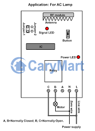 normally open closed contact our automation s1u ac220 circuit