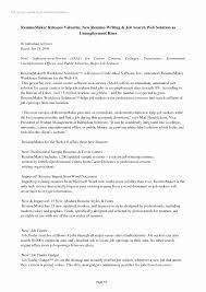 Work Experience Resume Templates - Roddyschrock.com