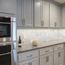 carrara marble backsplash. Exellent Backsplash Gray And White Kitchen Cabinets Carrara Marble Makes For A Pretty  Backsplash  On Marble Backsplash 2