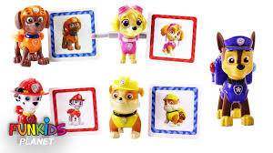 Paw Patrol Card Matching Game With Skye Chase Marshall Rubble