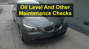 BMW Convertible how much is a bmw 525i : How to check oil and other maintenance items, BMW 525i, E60 - VOTD ...