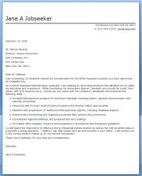 Sample Resume Cover Letters Free Best Administrative Assistant Cover