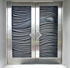 double glass doors double entry doors contemporary entry double glass sliding doors revit