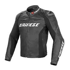 racing d1 leather perforated jacket