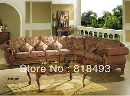 latest wooden corner sofa wooden corner sofa design solid wooden high quality fabric in