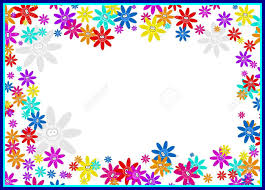 colorful frame border design. Fascinating Colourful Decorative Cartoon Floral Flower Frame Border Design Stock Picture Of Styles And Inspiration Colorful S