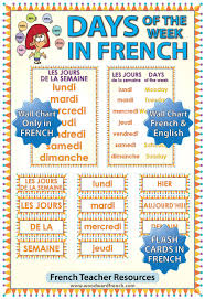 French Days Of The Week French Days Images Reverse Search