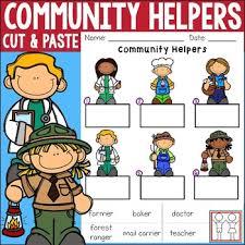 Community Helpers Chart Pdf Community Helpers Worksheets Teachers Pay Teachers