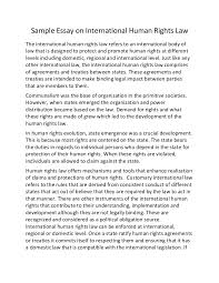 human rights essay writing words essay on human rights gcse law  sample essay on international human rights law