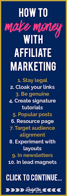 10 Crucial Tips To Make Money With Affiliate Marketing