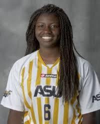 Alabama State Athletics - Alexandria Ayers - 2010 Women's Soccer - Alabama  State University