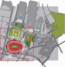 Mercedes Stadium Seating Chart Atlanta Georgia Dome Parking Map Atlanta Airport Parking Map New