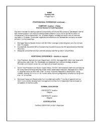 Lending Executive Resume
