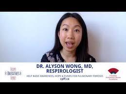 Dr. Alyson Wong, MD, Respirologist and CPFF Robert Davidson ...