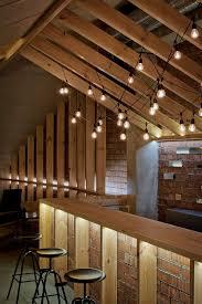ravishing attic bar blends rustic textures with contemporary design back bar lighting ideas basement bar lighting ideas bar lighting ideas