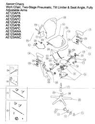 herman miller aeron chair parts diagram chair design ideas