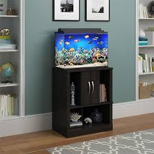 fishtank furniture. Amazon.com : Altra Furniture Ameriwood Home Cove 20 Gallon Aquarium Stand, Espresso Pet Supplies Fishtank